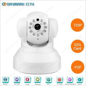 China Plug and Play 720p two way audio night vision p2p ip camera wireless on sale