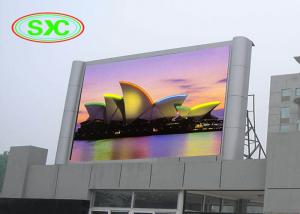China P6 Outdoor full color SMD rgb LED Display screen for advertising on sale