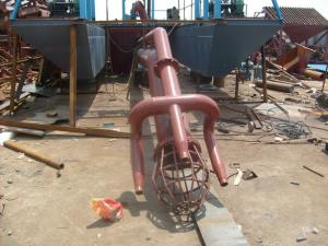 China jet suction type gold panning dredging equipment on sale