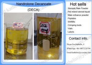 Quality Le Nandrolone cru stéroïde Decanoate Deca de poudre d'hormones stéroïdes de Primonolan Deca Durabolin injectent pour la croissance de muscle for sale