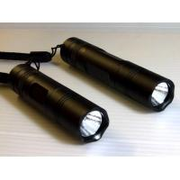 rechargeable led torch light/ led torch keychain/rechargeable led torch with CREE Q5 3W