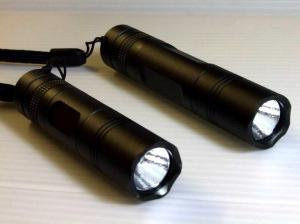China rechargeable led torch light/ led torch keychain/rechargeable led torch with CREE Q5 3W on sale