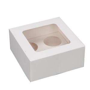 China New high quality clear plastic cupcake boxes packaging,cupcake boxes wholesale on sale
