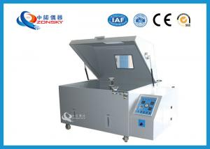 China 108L Salt Spray Test Chamber / Salt Spray Test Equipment ISO And ASTM Certified on sale