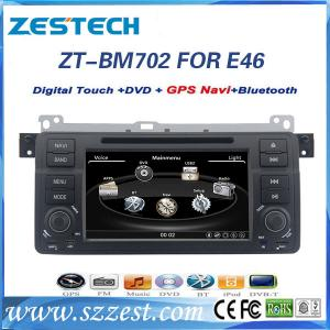 China ZESTECH car audio for bmw e46 3 series car audio with dvd GPS Bluetooth FM AM on sale