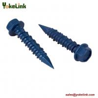 China Hex Washer Head Concrete Screw Hi-Lo Thread Screws Ruspert Tapcon Screw on sale
