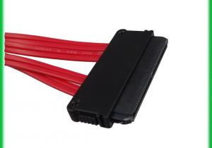 China Mini SAS Cable 32P to 4x SATA 7Pin With Latch cable on sale