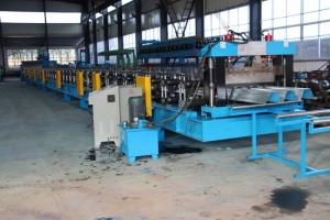 China 15KW X 3 Door Frame Making Machine , Stud And Track Roll Forming Machine 1.2 Inch Double Line on sale