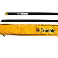 Trimble Survey GPS Accessories 2m black GPS Pole Two Section Telescopic Fiber