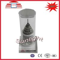 High Voltage ACSR Bare Aluminum Conductor pvc insulated for Overhead