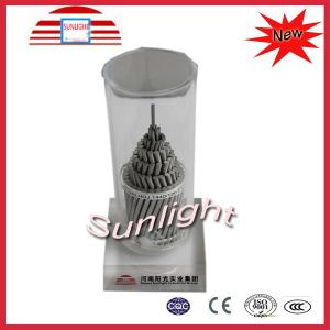 China High Voltage ACSR Bare Aluminum Conductor pvc insulated for Overhead on sale