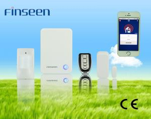 China Wireless Home anti theft system IP Home Security Alarm System with Apple APP on sale