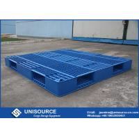 1 Ton Load Stackable Plastic Pallet 1200 X 1000mm HDPE Open Deck  Plastic Euro Pallets