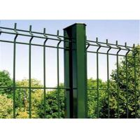 Vandal Resistant Metal Wire Mesh Fence 50*200mm Hole Size With Attractive Appearance
