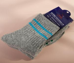 China mens wool boot socks for winter on sale