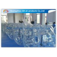 Clear Giant Inflatable Hamster Ball Human Bubble Ball With Custom Logo Printing