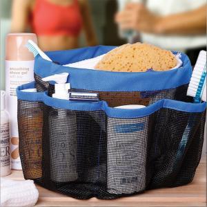 China 8-Pocket-Mesh-Bath-Shower-Caddy-Cloth-Storage-Box-Travel-Tote-Handle-Bathroom  8-Pocket-Mesh-Bath-Shower-Caddy-Cloth-St on sale