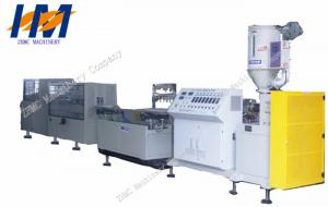 China High Output Plastic Profile Extrusion Line , PE PP Profile Making Machine on sale