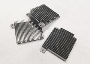 China Tolerance 0.002mm AL6063-T6 CNC Machining Metal Parts Heatsink Radiator Cooling on sale