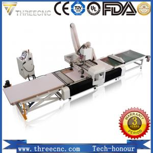 China Loading and unloading unique wood carving machine for furniture producing line. THREECNC on sale