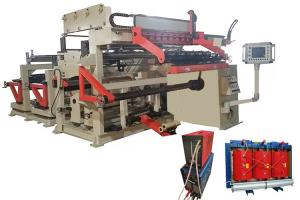 China Copper Aluminium Strip Winder Low Voltage Transformer Foil Winding Machine with TIG on sale