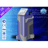 Fractional co2 laser treatment for stretch marks , radio frequency equipment
