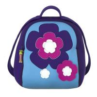 Flower Embroidered Personalized Kids Backpacks for School With Strap Adjustable