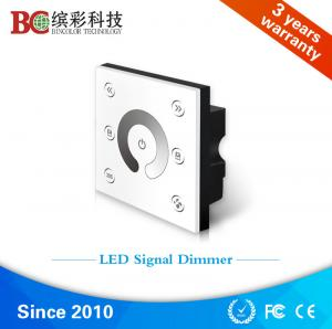 China Bincolor P1-PWM10V 2 channels 86 socket wall mounted led PWM10V signal dimmer on sale