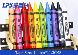 China 24 Colors Silky Gel Wax Crayons Round Extral Jumbo Crayons Kids Favourite on sale