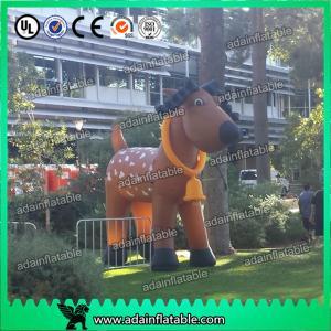 China Christmas Inflatable Deer, Inflattable Deer Mascot,Event Inflatable Deer Cartoon on sale