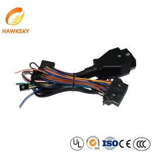 China assembly OBD male to female wire harness/assembly OBD wire harness on sale