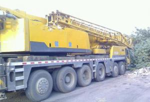 China Used XCMG QY100K Truck Crane 2008year on sale