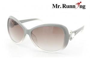 China Fashionable Modern Eye Protective Sun Glasses With Large Diamond on sale