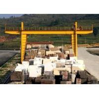 Durable Double Girder Gantry Crane 40 Ton Rail Low Maintenance Marble Cabin