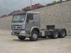 China Trailer Head 40t 6x4 Prime Mover And Trailer Euro 2 12.00R20 Tyre HW76 Cabin on sale
