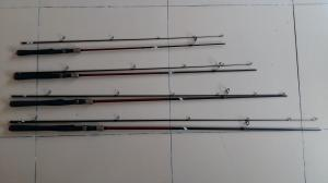 China Cork handle NEW style VSS reel seat FUJI guides Spinning Carbon Fishing rods on sale