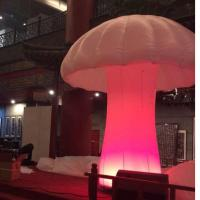 Customized chinese new year inflatables mushroom