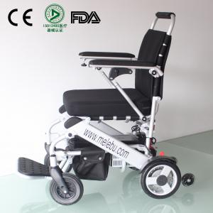 China Melebu Lightweight Portable Folding Electric Power Wheelchair on sale