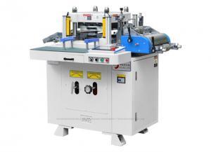 China Máquina cortando automática de carimbo quente para a tela/filme adesivo on sale