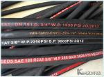 Oil Resistant High Pressure Wire Braided Hydraulic Hose R2AT