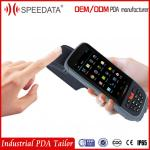 NFC Portable Fingerprint Reader Handheld PDA Devices With 8mp Camera
