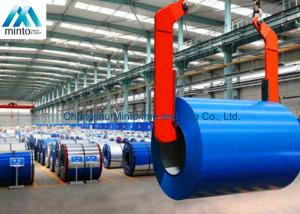 China JIS G3302 Zinc Aluminium Color Coated Steel Coil Painted Aluminum Coil on sale