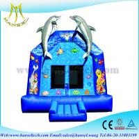 China Hansel popular inflatable funny party rentals miami jump house on sale
