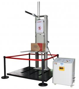 China Double Track Drop Testing Machine , Drop Test Equipment with Safety Protection on sale