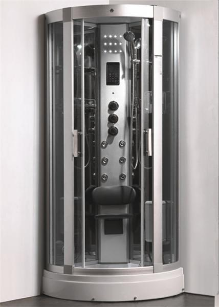 Enclosed Steam Shower Bath Cabin Spa Shower Enclosures With Aluminum ...