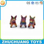 plastic animal doll donkey doll toy for kids