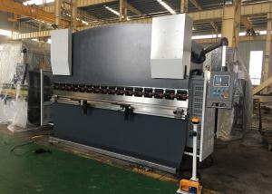 China Double Guided Ram Hydraulic NC Press Brake Machine With Safety Light Curtain on sale