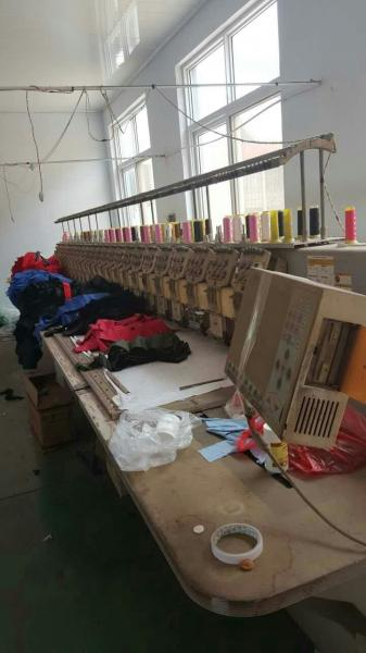 Second Hand Swf 24 Head Embroidery Machine 3 Phases Used Embroidery
