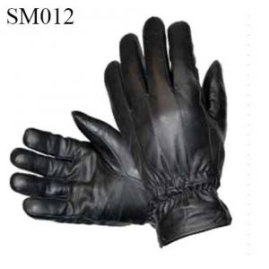 China Men sheep leather gloves high quality at cheap price SM012 men leather glove on sale