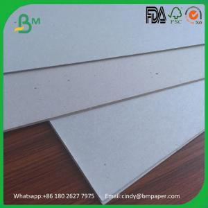 China Excellent Stiffness 1mm 1.5mm 1.7mm Double Side Grey Back PaperBoard on sale